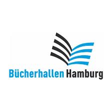 Sie sehen das Logo der Bücherhallen Hamburg.
