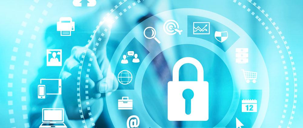 Sie sehen das Beitragsbild zum Thema Datenschutz im e-Learning.